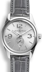 Bell & Ross BR 123 Officer Silver