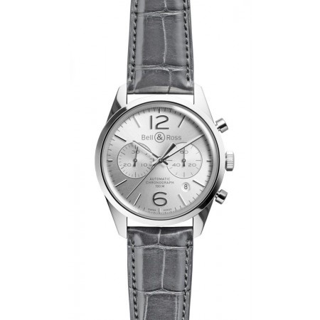 Bell & Ross BR 126 Officer Silver