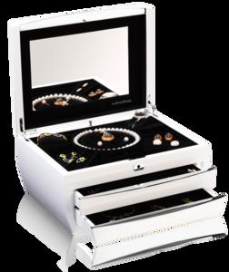 Шкатулки для драгоценностей Buben & Zorweg Cosmopolitan Piano White