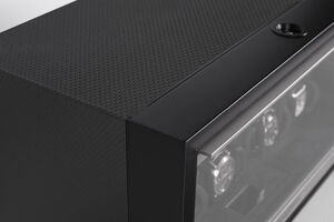 Шкатулка для подзавода BUBEN & ZORWEG NEO 8 SPIKE BLACK