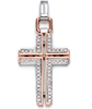 Мужской кулон Men's Cross Pendant With Diamonds Baraka 'Ref: CR214441