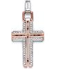 Мужской кулон Men's Cross Pendant With Diamonds Baraka 'Ref: CR214441