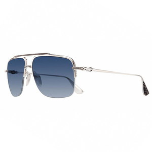 Chrome Hearts L'DEATIT II Brushed Silver-CTEK-With Cross