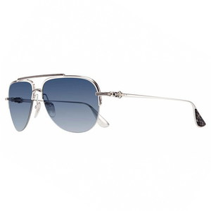 Chrome Hearts L'DEATIT I Brushed Silver-CTEK