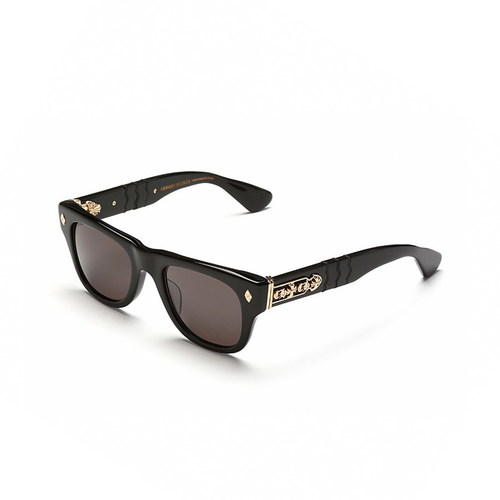 Chrome Hearts INSTAGASM Black Gold Plated