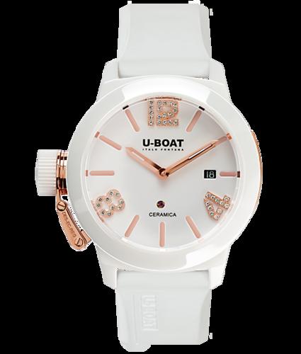 U-BOAT Classico Ceramic Gold 42 Ref.7125