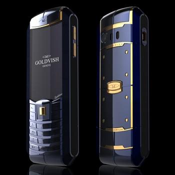 GoldVish Equilibrium BLUE REGATTA