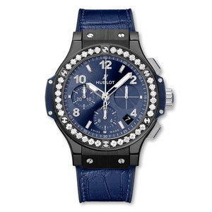 Hublot Big Bang Ceramic Blue Diamonds 41mm 341.CM.7170.LR.1204