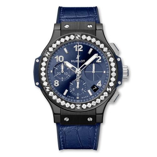 Hublot Big Bang Ceramic Blue Diamonds 41mm 341.CM.7170.LR.1204