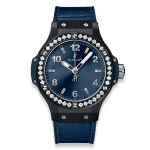 Hublot Big Bang Ceramic Blue Diamonds 38mm 361.CM.7170.LR.1204