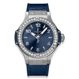 Hublot Big Bang Steel Blue Diamonds 38 mm 361.SX.7170.LR.1204