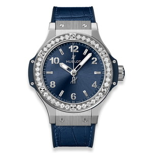 Hublot Big Bang Steel Blue Diamonds 38 mm 361.SX.7170.LR.1204