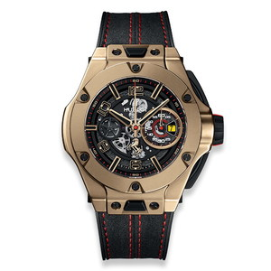 Hublot Big Bang Ferrari Chronograph Unico Magic Gold 45mm 402.MX.0138.WR