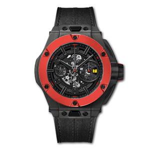 Hublot Big Bang Ferrari Chronograph Unico Carbon Red Ceramic 45mm 402.QF.0110.WR