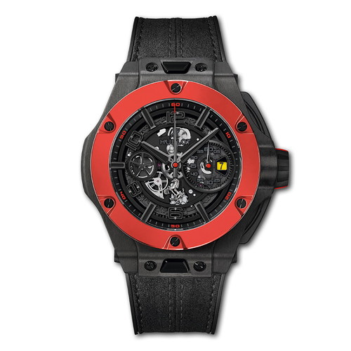 Hublot Big Bang Ferrari Chronograph Unico Carbon Red Ceramic 45mm 402.QF.0110.WR