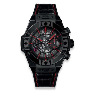 Hublot Big Bang Unico World Poker Tour All Black 45mm 411.CX.1113.LR.WPT17