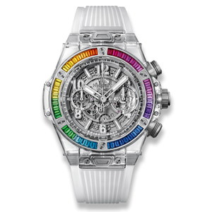 Hublot Big Bang Unico Sapphire Rainbow 45 mm 411.JX.4803.RT.4099