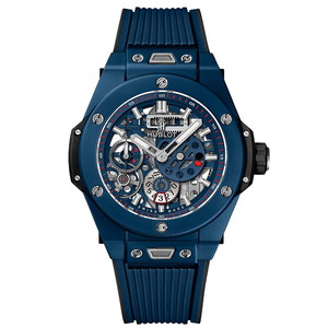 Hublot Big Bang Meca-10 Ceramic Blue 45mm 414.EX.5123.RX