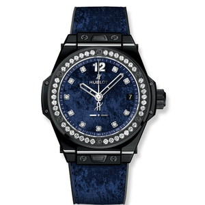 Hublot Big Bang One Click Italia Independent Dark Blue Velvet 39mm 465.CS.277J.NR.1204.ITI17