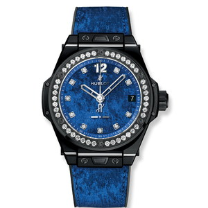 Hublot Big Bang One Click Italia Independent Blue Velvet 39mm 465.CS.277L.NR.1204.ITI17