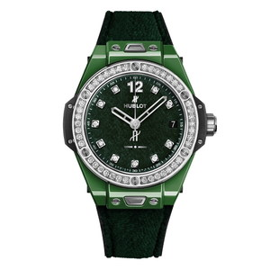 Hublot Big Bang One Click Italia Independent Dark Green Velvet 39mm 465.GX.277G.NR.1204.ITI18
