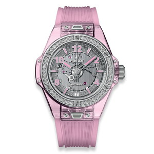 Hublot Big Bang One Click Pink Sapphire Diamonds 39mm 465.JP.4802.RT.1204