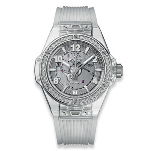 Hublot Big Bang One Click Sapphire Diamonds 39mm 465.JX.4802.RT.1204