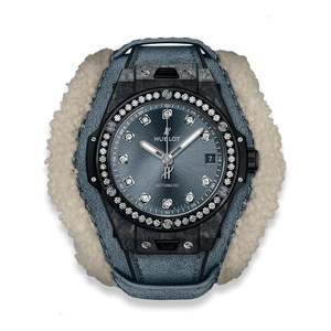 Hublot Big Bang One Click Frosted Carbon Diamonds 39mm 465.QK.7170.VR.1204.ALP18