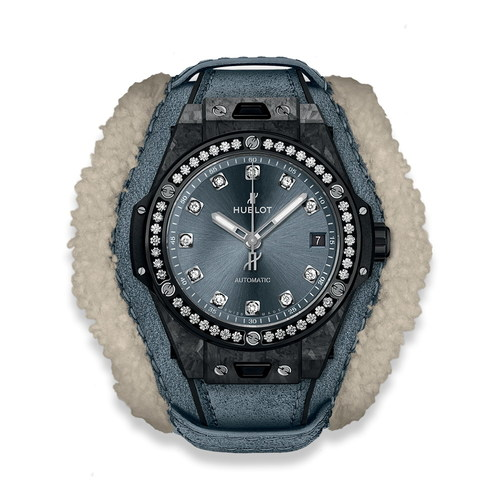 Hublot Big Bang One Click Frosted Carbon Diamonds 39mm 465.QK.7170.VR.1204.ALP18