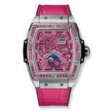 Hublot Spirit Of Big Bang Moonphase Titanium Pink 42mm 647.NX.7371.LR.1233