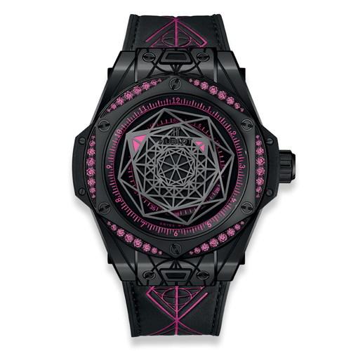 Hublot Big Bang Sang Bleu All Black Pink 465.CS.1119.VR.1233.MXM18