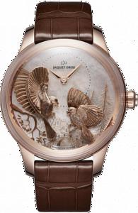 Jaquet Droz Les Ateliers d`Art Petite Heure Minute Relief Seasons J005023270