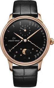Jaquet Droz Complication Chaux-de-Fonds Perpetual Calendar Eclipse black J030533200