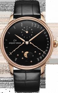Jaquet Droz Complication Chaux-de-Fonds Perpetual Calendar Eclipse black J030533200