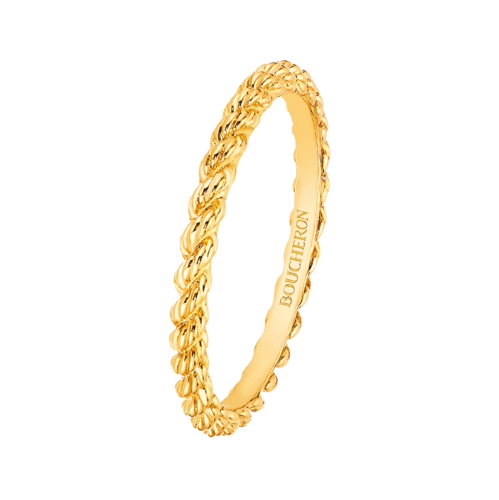Boucheron Serpent Boheme Yellow Gold Wedding Band