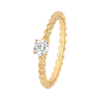 Boucheron Serpent Boheme Yellow Gold Solitaire