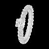 Boucheron Serpent Boheme White Gold Solitaire