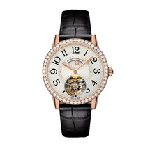 Jaeger LeCoultre Rendez-Vous Tourbillon Night & Day Ladies Watch Q3412407