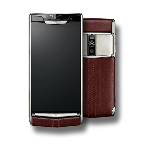 VERTU SIGNATURE TOUCH NEW GARNET CALF
