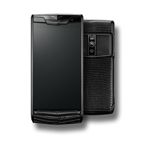 VERTU SIGNATURE TOUCH NEW PURE JET LIZARD
