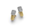 Fope серьги VIRGINIA Yellow Gold Diamond Earrings OR226 BBR1