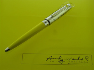 S.T. Dupont Marilyn Monroe Mini Ballpoint Pen by Andy Warhol, 487465