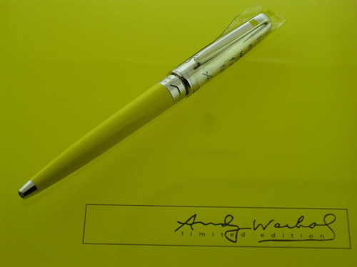 S.T. Dupont Marilyn Monroe Mini Ballpoint Pen by Andy Warhol, 487465