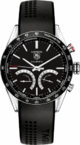 TAG Heuer Carrera 1/100 th sec Electro-Mechanical Chronograph 43 mm CV7A12.FT6012