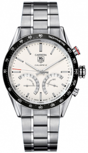 TAG Heuer Carrera 1/100 th sec Electro-Mechanical Chronograph 43 mm CV7A13.BA0795