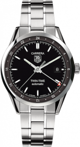 TAG Heuer Carrera Twin Time Automatic 39 mm WV2115.BA0787
