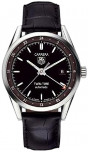 TAG Heuer Carrera Twin Time Automatic 39 mm WV2115.FC6180