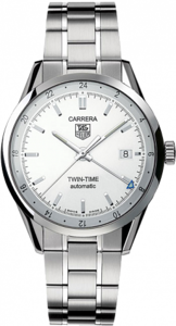 TAG Heuer Carrera Twin Time Automatic 39 mm WV2116.BA0787