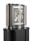 Настольные часы Buben & Zorweg Ellipse Grand Revers Tourbillon Black Magic