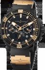 Ulysse Nardin Marine Collection Black Sea Chronograph 353-90-3